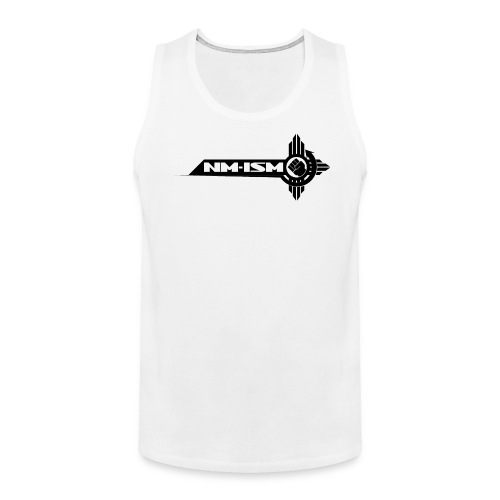 Men's NM-ISM Black Logo Tank - Men's Premium Tank