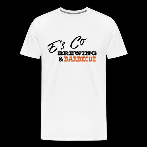 E's Co Brewing & Barbecue Original - Men's Premium T-Shirt