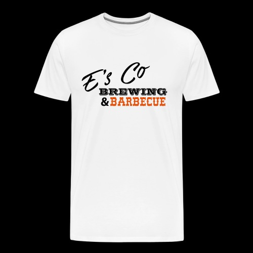 E's Co Brewing & Barbecue Original - Men's Premium T-Shirt