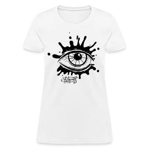 Splatter Eye - Women's T-Shirt