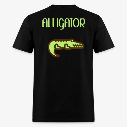 Alligator Custom Shirt - Mens - Men's T-Shirt