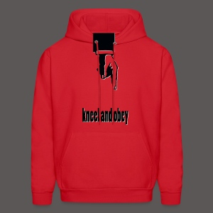 KNEEL AND  - Men's Hoodie