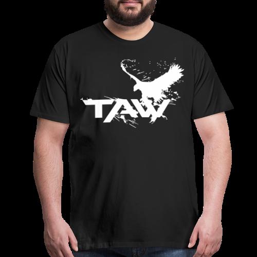TAW Eagle Men's T-Shirt (Customization Available) - Men's Premium T-Shirt