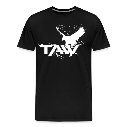 TAW Eagle Men's T-Shirt (Customization Available) - Men's Premium T-Shirt