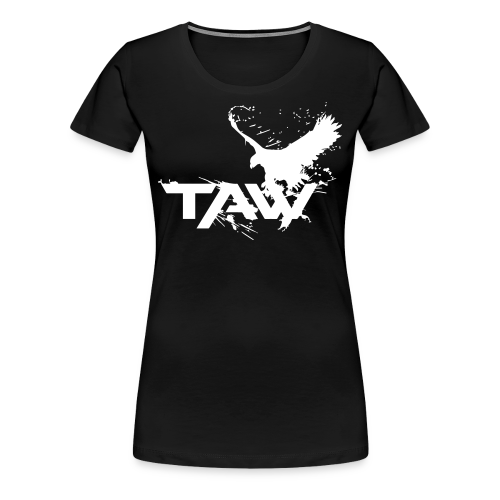 TAW Eagle Women's T-Shirt (Customization Available) - Women's Premium T-Shirt