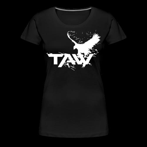 TAW Eagle Women's T-Shirt (Customization Available) - Women's Premium T-Shirt