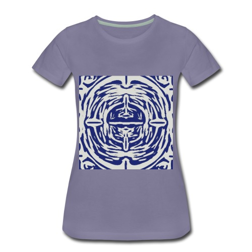 Graphic Acorn Sketch - Women's Premium T-Shirt