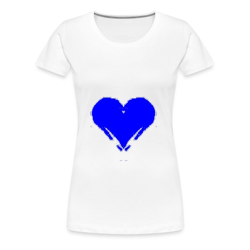 Blue Heart - Women's Premium T-Shirt