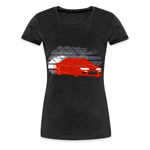 Women's Nissan 240SX S14 Drift T-shirt - Women's Premium T-Shirt