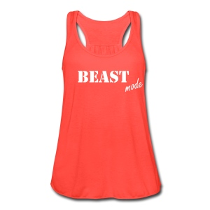 Beast Mode Women's Flowy Tank - Women's Flowy Tank Top by Bella