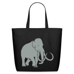 animal t-shirt mammoth elephant tusk ice age mammut - Eco-Friendly Cotton Tote