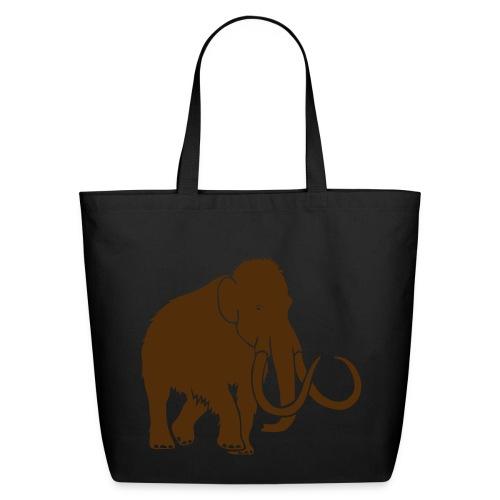 animal t-shirt mammoth elephant tusk ice age mammut - Eco-Friendly Cotton Tote
