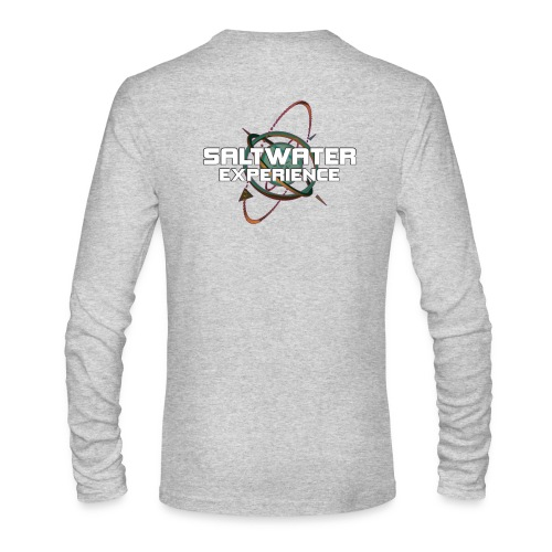 Long Sleeve Saltwater Experience Back Logo - Men's Long Sleeve T-Shirt by Next Level