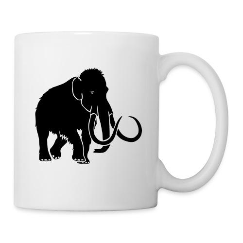 animal t-shirt mammoth elephant tusk ice age mammut - Coffee/Tea Mug