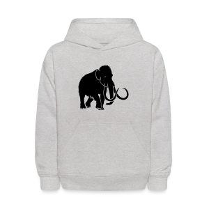 animal t-shirt mammoth elephant tusk ice age mammut - Kids' Hoodie
