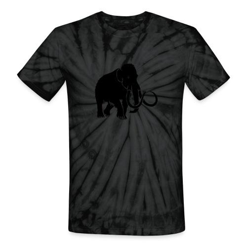 animal t-shirt mammoth elephant tusk ice age mammut - Unisex Tie Dye T-Shirt