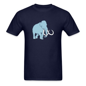 animal t-shirt mammoth elephant tusk ice age mammut - Men's T-Shirt