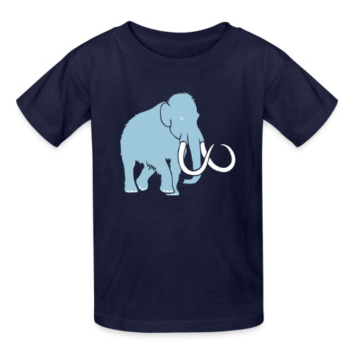 animal t-shirt mammoth elephant tusk ice age mammut - Kids' T-Shirt