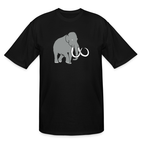animal t-shirt mammoth elephant tusk ice age mammut - Men's Tall T-Shirt