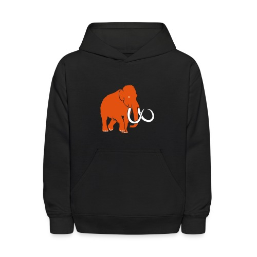 animal t-shirt mammoth elephant tusk ice age mammut - Kids' Hoodie