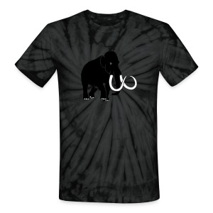 animal t-shirt mammoth elephant tusk ice age mammut - Unisex Tie Dye T-Shirt
