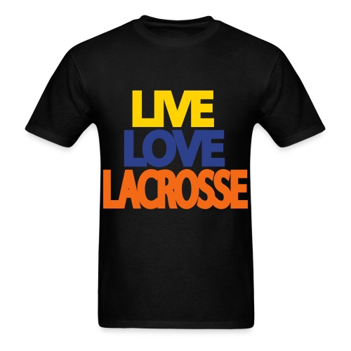 Live Love Lacrosse (Men's) - Men's T-Shirt