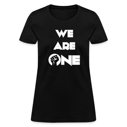 We Are One T-shirt - Women's T-Shirt