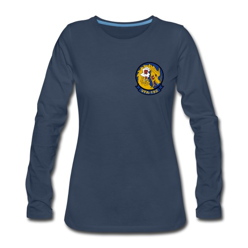 VFA-192 GOLDEN DRAGONS LONG SLEEVE - WOMENS - Women's Premium Long Sleeve T-Shirt