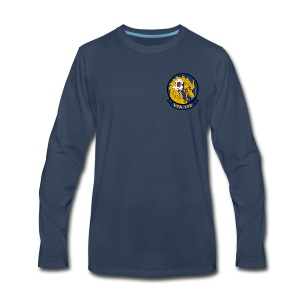 VFA-192 GOLDEN DRAGONS LONG SLEEVE - Men's Premium Long Sleeve T-Shirt