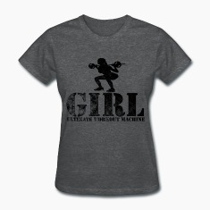Ultimate Workout Machine (2) Women's T-Shirts