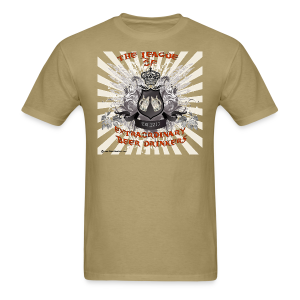 The League of Extraordinary Beer Drinkers Crest T-Shirt - Men's T-Shirt