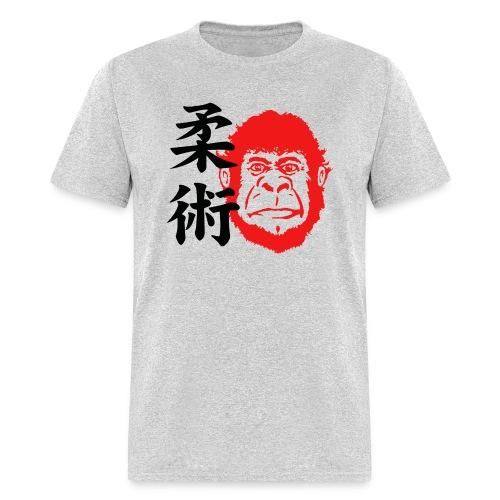 TM Joe Gorilla with Kanji Shirt - heather gray - Men's T-Shirt