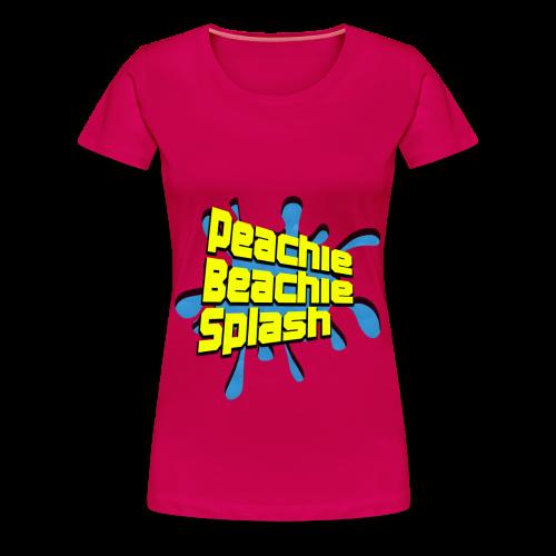 Water Gun Fighter Logo (Female) - Women's Premium T-Shirt