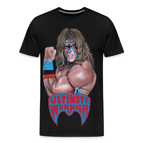 Ultimate Warrior Limited Edition Portrait Shirt - Men's Premium T-Shirt