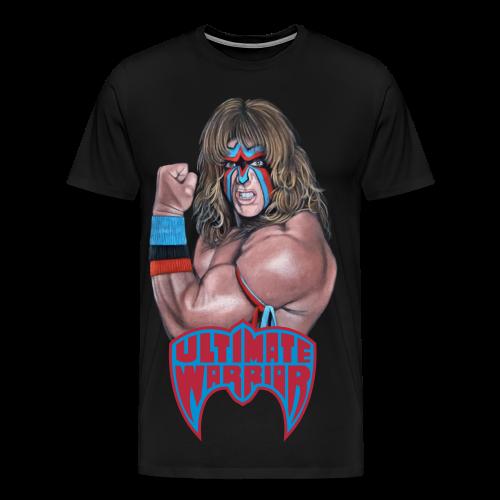 Ultimate Warrior Limited Edition Portrait Shirt - Men's Premium T-Shirt