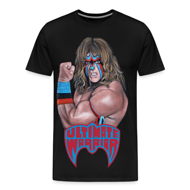 Ultimate Warrior Limited Edition Portrait Shirt