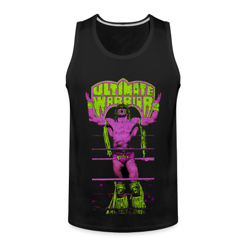 Ultimate Warrior Talk To The Gods Tank Top - Men's Premium Tank