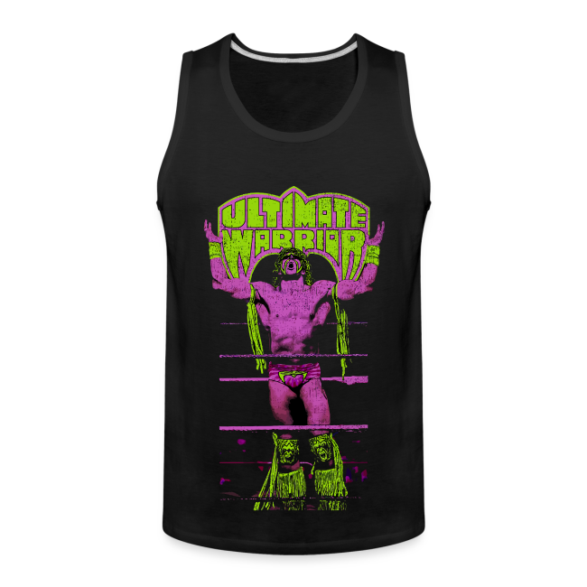Ultimate Warrior Talk To The Gods Tank Top