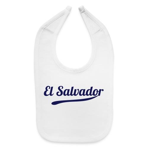 El Salvador Baby Bib - Baby Bib