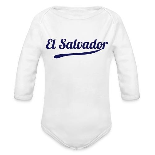 El Salvador Baby Bodysuit - Organic Long Sleeve Baby Bodysuit