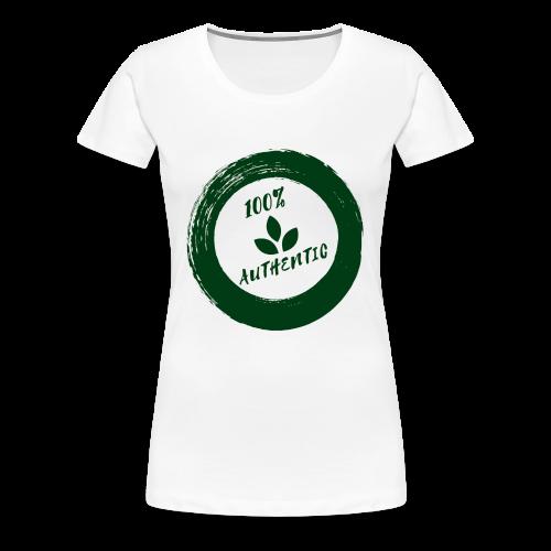 100% AUTHENTIC - Women's Premium T-Shirt