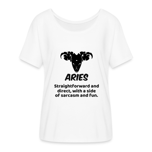 ARIES - Women's Flowy T-Shirt