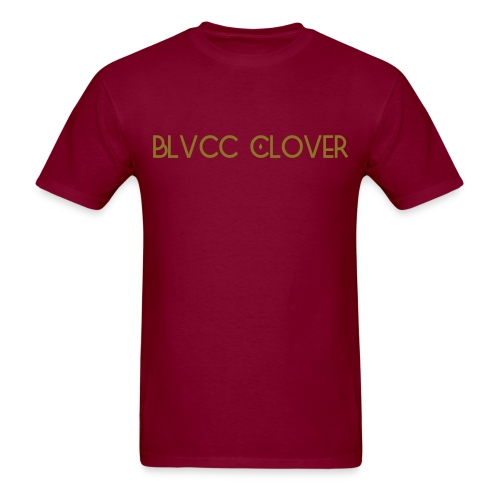 Blvcc Clover Metallic  - Men's T-Shirt