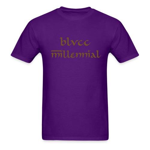 Blvcc Millennial  - Men's T-Shirt