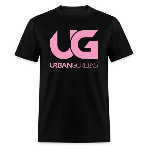 UG Pink Logo Tee - Men's T-Shirt