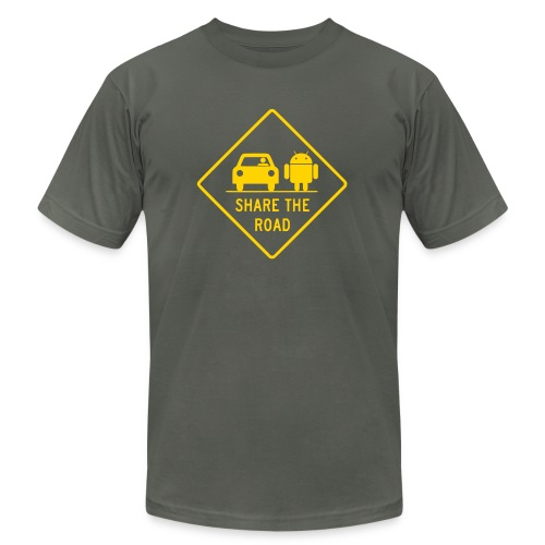 share with androids mens shirt - Men's Fine Jersey T-Shirt