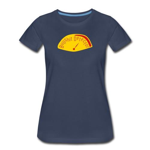 Bullshit Detector Meter - Women's Premium T-Shirt
