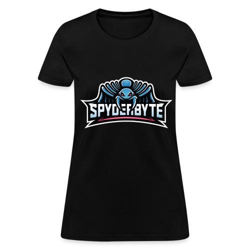 SpyderByte Blue Swag - Women's T-Shirt