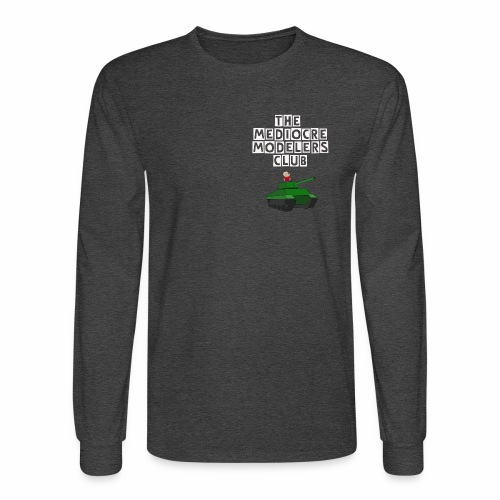 Long sleeve Mediocre Modelers Club - Men's Long Sleeve T-Shirt