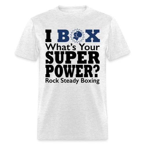 Super Power Two Color  - Men's T-Shirt